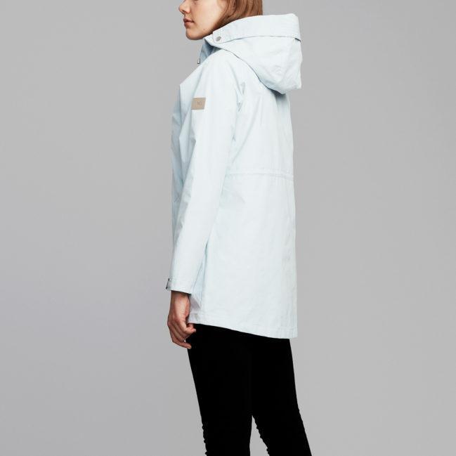 Makia Women's Raglan Jacket Light Blue