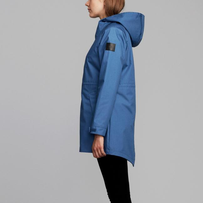 Makia Women's Fishtail Jacket Blue